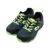 LOTTO JOURNEY 越野跑鞋 黑綠 LT0AMR1765 男鞋