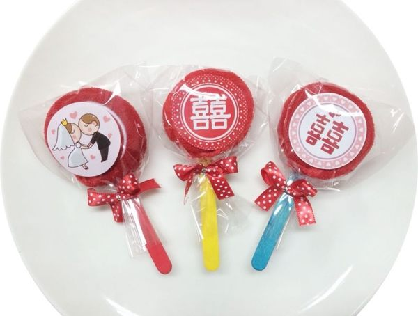 娃娃屋樂園~毛巾婚禮棒棒糖 每支25元/婚禮小物/送客禮/喜糖籃組/探房禮