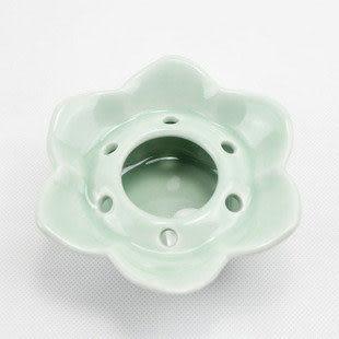 龍泉青瓷蓮花型煙灰缸