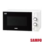 促銷【聲寶SAMPO】天廚28L機械式微波爐RE-N328TR