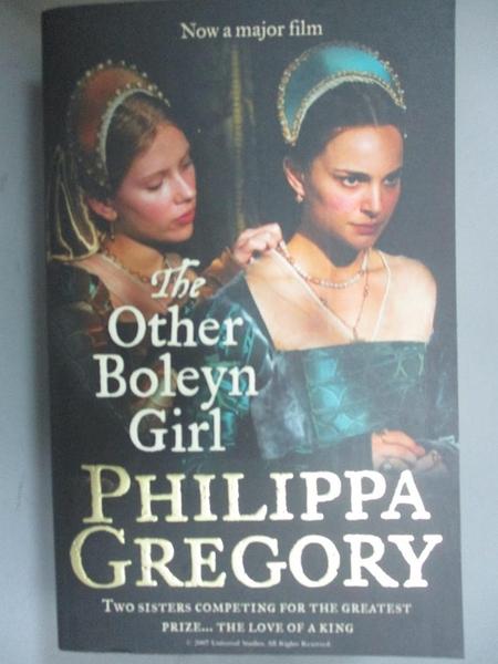 【書寶二手書T5/一般小說_C1P】The Other Boleyn Girl - Film Tie-In Edn_Philippa Gregory