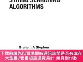 二手書博民逛書店String罕見Searching AlgorithmsY255174 Stephen, Graham A.