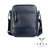 【VOVA】  公爵系列職人直式斜背包(爵士藍)VA120S01BL