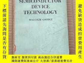 二手書博民逛書店semiconductor罕見device technology(P373)Y173412