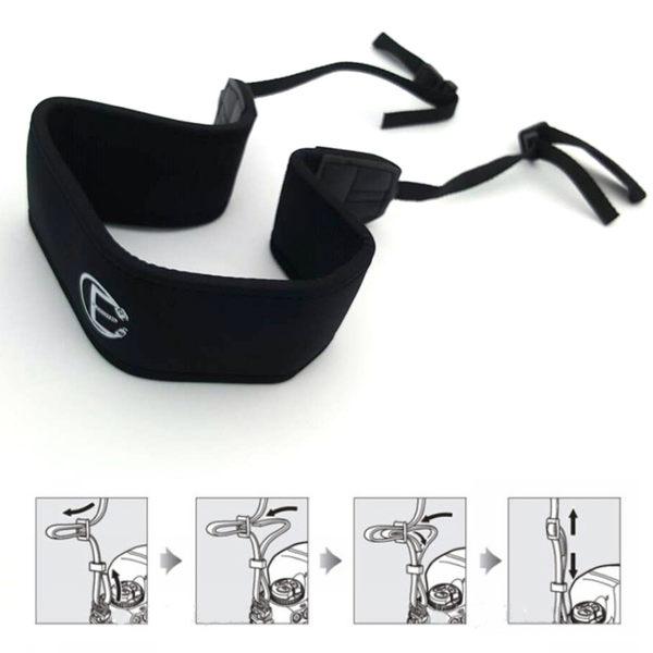 【黑熊館】大彈性減壓背帶 單眼相機 數位相機 類單眼 攝影機 專用 加強型 彈性減壓背帶 減壓帶