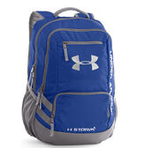 UA Storm Hustle II [1263964-400] 男女 後背包 書包 減壓背帶 運動 休閒 輕量 藍
