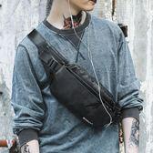 男士休閒腰包潮流時尚胸包新款韓版運動戶外斜挎包便捷小背包