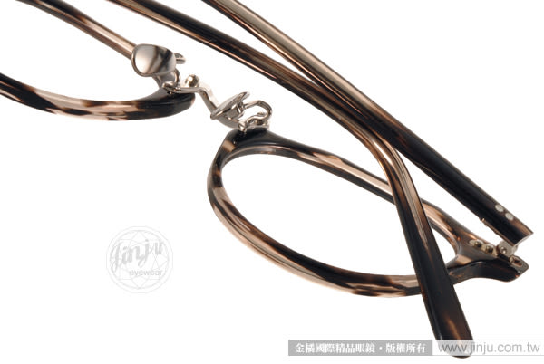 STANCEY RAMARS 光學眼鏡 SRM82 C03 (流線透棕-銀) 日系工藝復古簡約款 # 金橘眼鏡