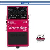 【非凡樂器】BOSS VO-1人聲效果器/贈導線/公司貨保固