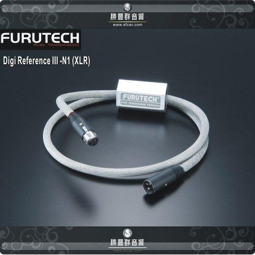 【竹北勝豐群音響】FURUTECH Digi Ref. III-N1 (XLR)1.2米 數位訊號線 Reference N1