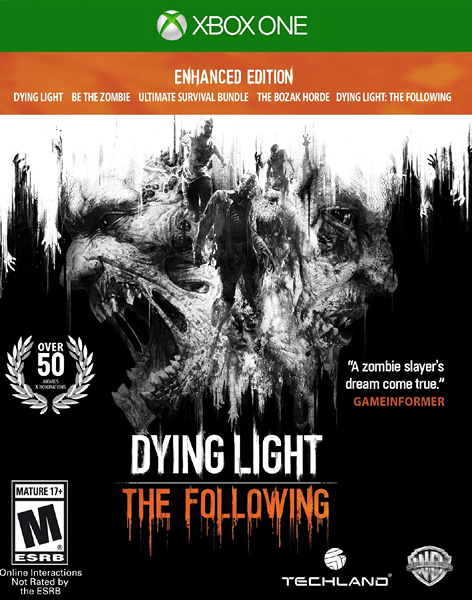 X1 Dying Light: The Following - Enhanced Edition 垂死之光 強化版(美版代購)