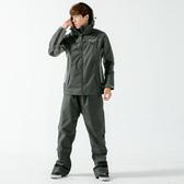 [安信騎士] BRIGHTDAY Aero 9項專利 透氣 兩件式 風雨衣 黑 雨衣 A9