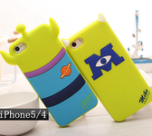 4S 蘋果iphone5/5S 4/4S note3 note2 怪獸卡通保護套  (任選二個$900)