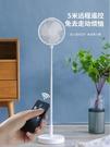 長虹小風扇落地家用可伸縮折疊USB充電小型電風扇大風迷你便攜式 樂活生活館