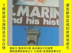 二手書博民逛書店S.MARIN罕見ang his history 彩色銅版紙 裝