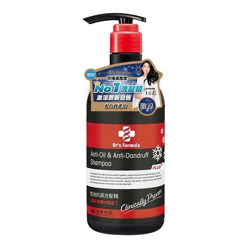 《台塑生醫》Dr's Formula控油抗屑洗髮精升級版(激涼款)580g