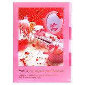 Sanrio HELLO KITTY法式浪漫系列五層分類文件夾(甜蜜梳妝)★funbox生活用品★_UA45386