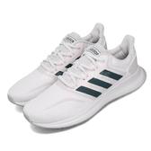 adidas 休閒鞋 Runfalcon 白 灰 女鞋 運動鞋 【ACS】 EG8627