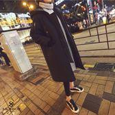 外套 情侶【加厚羽絨外套長款-男女皆可穿】 韓國爆款匹諾曹朴信惠款 長版外套 大衣 保暖 GW005