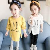 女童嬰幼兒童裝春裝女寶寶小童長袖T恤棉質打底衫長款0-1-2-3-4歲(交換禮物 創意)聖誕