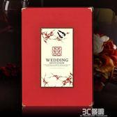 婚禮用品 婚宴記帳本結婚用品報喜鳥簽到本婚禮簽名冊創意商務題名簿禮金簿 3C優購