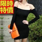 洋裝-夜店風顯瘦高雅流行韓版連身裙63ab11【巴黎精品】