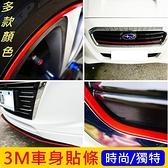HONDA本田【FIT車身貼條】紅 黃 藍 綠 橙 FIT全車系 3M貼膜 不殘膠 包膜 車側飾條 鋁圈邊條
