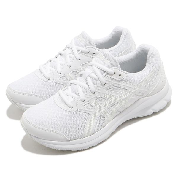 ASICS Jolt 3 寬楦 女款 慢跑鞋 白色 1012A909-101【KAORACER】
