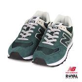 New Balance 新竹皇家 574 綠色 麂皮 網布 運動休閒鞋 男女款 NO.B0244