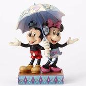 聖誕禮物《Enesco精品雕塑》迪士尼米奇米妮浪漫小傘塑像-Rain Day Romance(Disney Traditions)_EN87894
