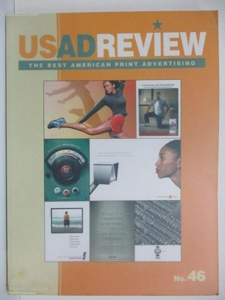 【書寶二手書T2/設計_DY8】US AD REVIEW_No.46