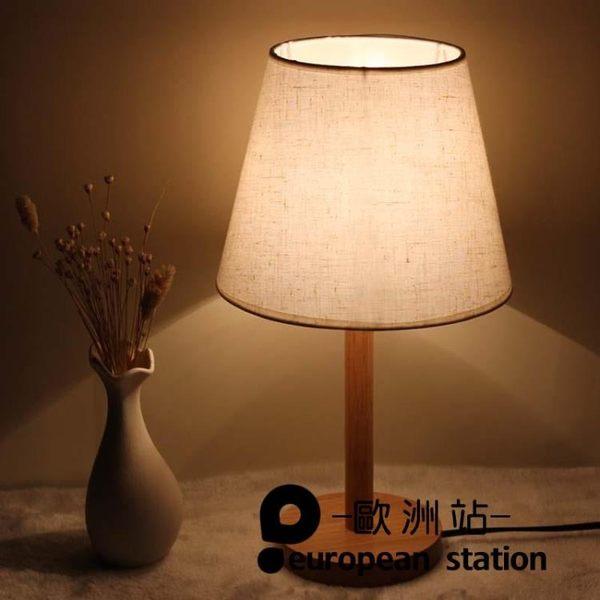 檯燈/北歐簡約床頭燈現代簡約溫馨【歐洲站】