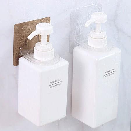 無痕瓶口掛勾 壁掛式沐浴乳架 瓶口架 瓶掛架 置物 掛架 居家 收納 沐浴乳 洗髮精 無痕 無痕貼片