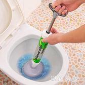 馬桶疏通器通廁所堵塞皮搋子坐便器馬桶吸強力下水道工具管道神器wl3848『黑色妹妹』