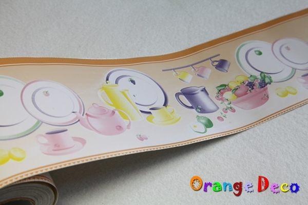 自黏壁紙【橘果設計】10米長 PVC自黏腰線貼 DIY組合壁貼 牆貼 壁紙 壁貼 室內設計 裝潢 壁貼