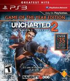 PS3 UNCHARTED 2: Among Thieves - Game of The Year Edition 秘境探險 2年度紀念特別版(美版代購)