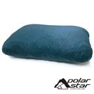 【POLARSTAR】露營枕-M (30x44cm)『青玉藍』P21711 午安枕.充氣枕.頭靠枕.護頸枕.午睡枕.旅行枕