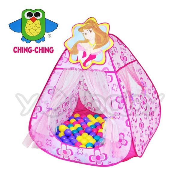 親親 甜蜜公主帳篷球屋+送100顆彩色遊戲球