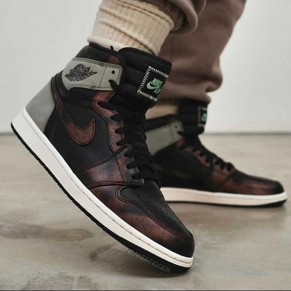 【跨店好好買現貨折後$7380】NIKE Air Jordan 1 High OG Rust Shadow 古銅 變色龍 555088-033