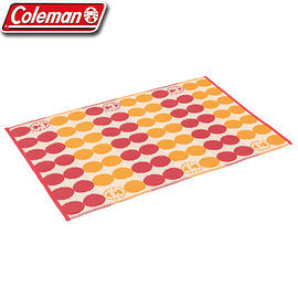 【偉盟公司貨】丹大戶外【Coleman】美國 戶外地毯 130點點紅 CM-26876