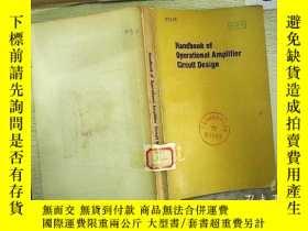 二手書博民逛書店Handbook罕見of Operational Amplifi