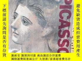 二手書博民逛書店Exposition罕見PICASSO畢加索展覽日本1977-7