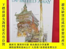 二手書博民逛書店The罕見Art of Spirited Away (8開,硬精
