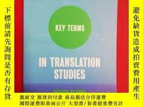 二手書博民逛書店Key罕見Terms in Translation Studie