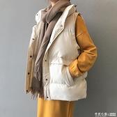 羽絨棉馬甲女短款秋冬2020新款韓版寬松加厚外穿坎肩背心馬夾外套 怦然心動