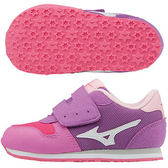 美津濃 MIZUNO幼兒鞋TINY RUNNER 5(紫粉紅X白)K1GD173202【 胖媛的店 】