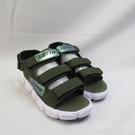 LOTTO 時尚織帶涼鞋 運動涼鞋 LT1AKS3315 後可拆式 中童款 軍綠【iSport愛運動】