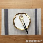 4張裝時尚餐桌墊桌墊套裝 西餐墊餐桌隔熱墊免水洗防滑墊碗墊盤墊  依夏嚴選