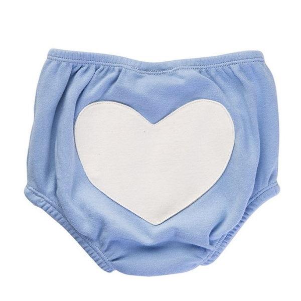 有機棉 包屁褲 澳洲 Sapling Child 有機棉愛心包屁短褲