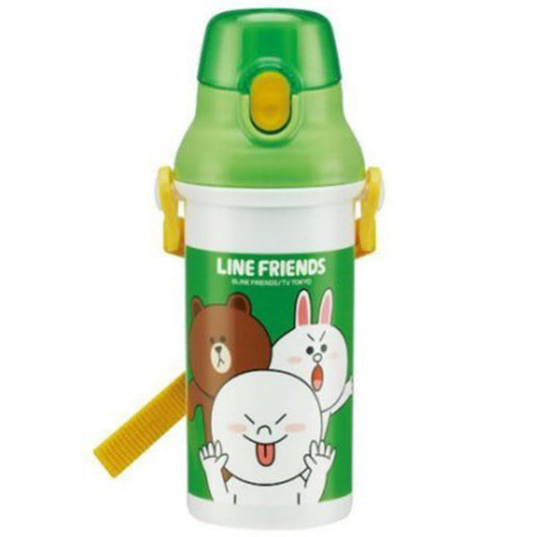 LINE彈跳水壺 480ml (OS shop)